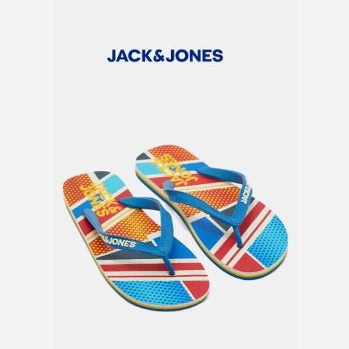 Jack & Jones - Chanclas print geometric flip flop