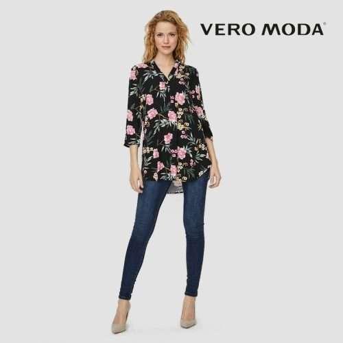 Vero Moda - Blusa simply easy estampada