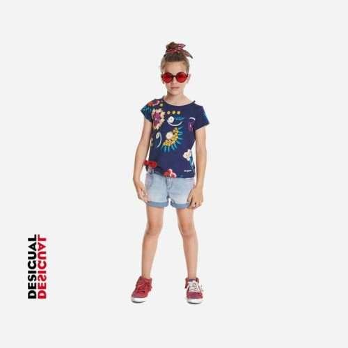 Desigual - Camiseta Tennessee floral