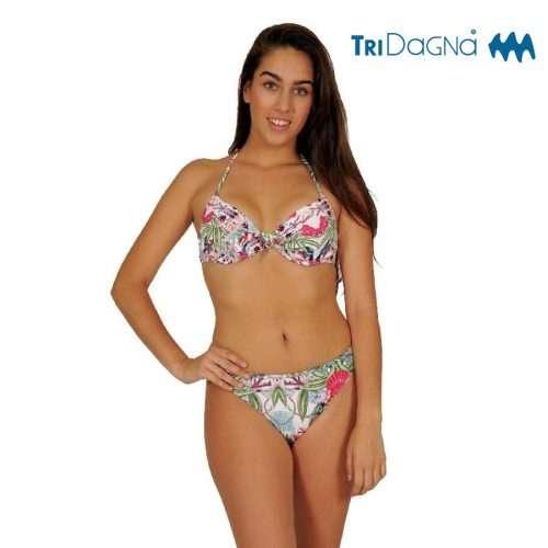 Tridagna - Braga bikini floral Tenerife
