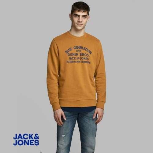Jack & Jones – Sudadera Originals Standard cuello redondo