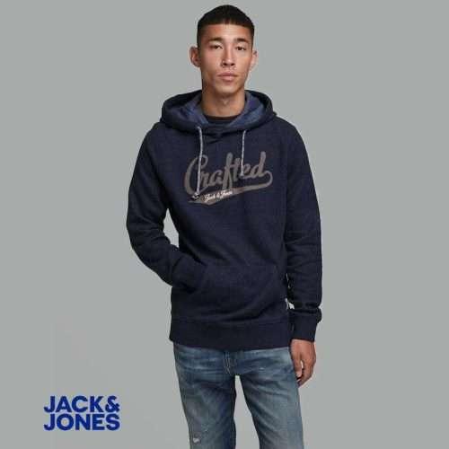 Jack & Jones - Sudadera Structure con bolsillo y capucha