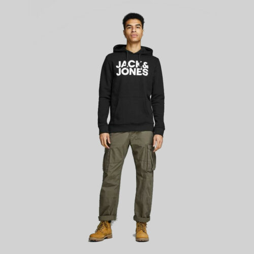 Jack & Jones - Sudadera logotipo con capucha