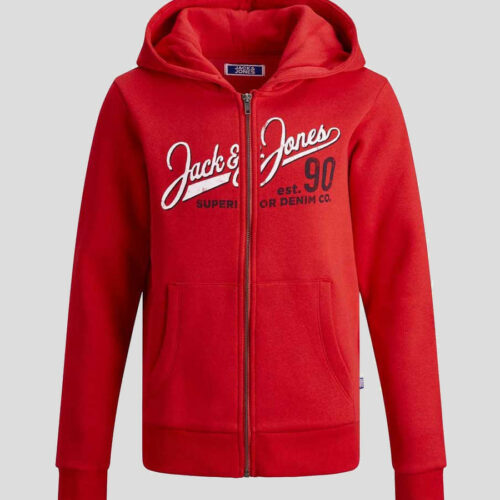 Jack & Jones - Sudadera Zip logo