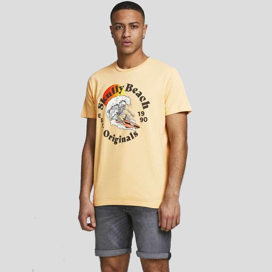 Jack & Jones - Camiseta Calavera 12189698