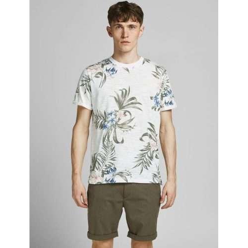 Jack & Jones - Camiseta Blabeach BLANC DE BLANC