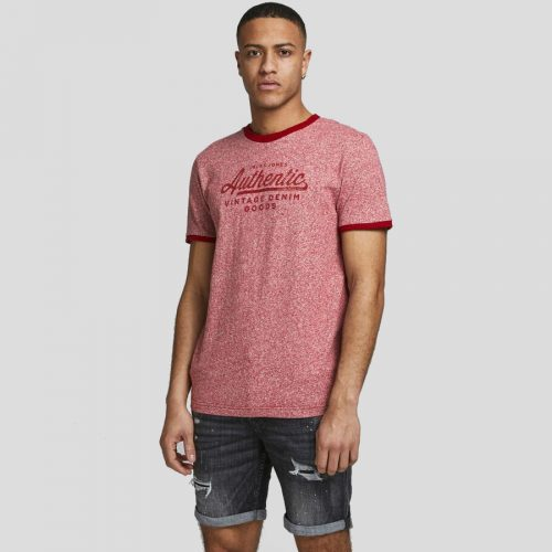 Jack & Jones - Camiseta Blutaylor 12187944 BRICK RED