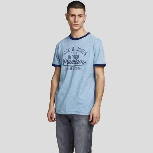 Jack & Jones - Camiseta Blutaylor 12187944 PEACOAT
