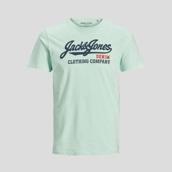 Jack & Jones - Camiseta Logo 12173882 Aqua
