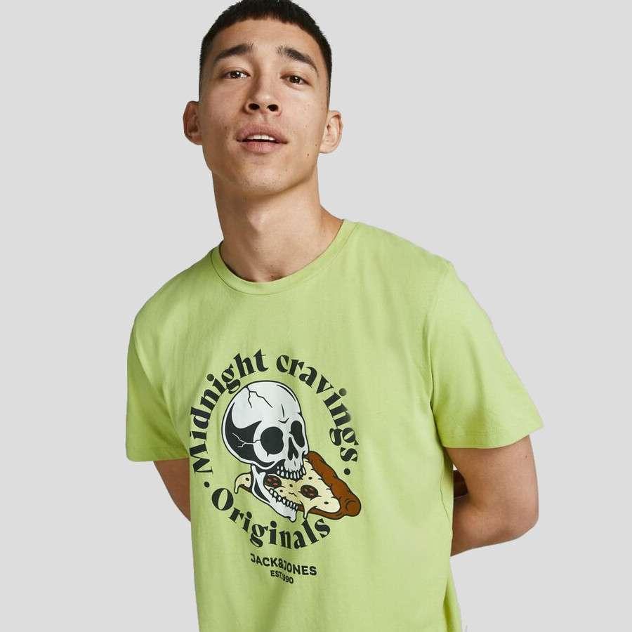 Jack & Jones - Camiseta Skull 12193804 WINTER PEAR