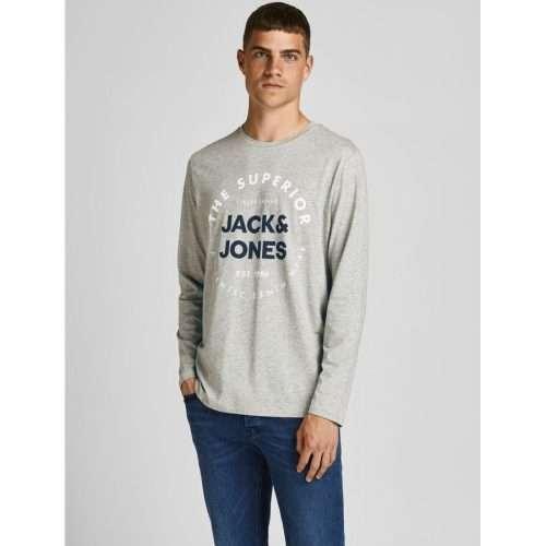 Jack & Jones - Camiseta Herro 12188712 LIGHT GREY