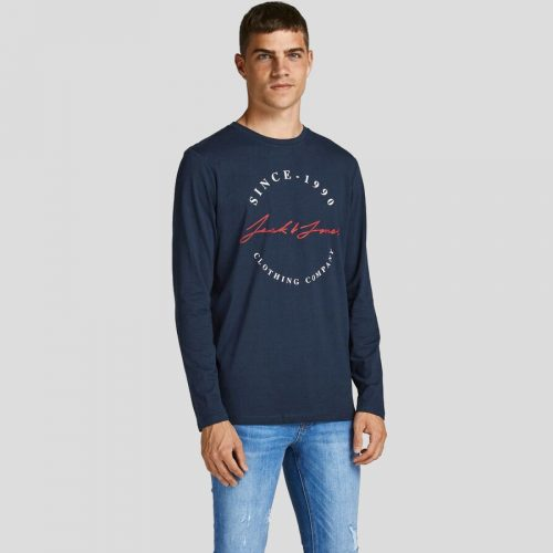 Jack & Jones - Camiseta Herro 12188712 NAVY BLAZER