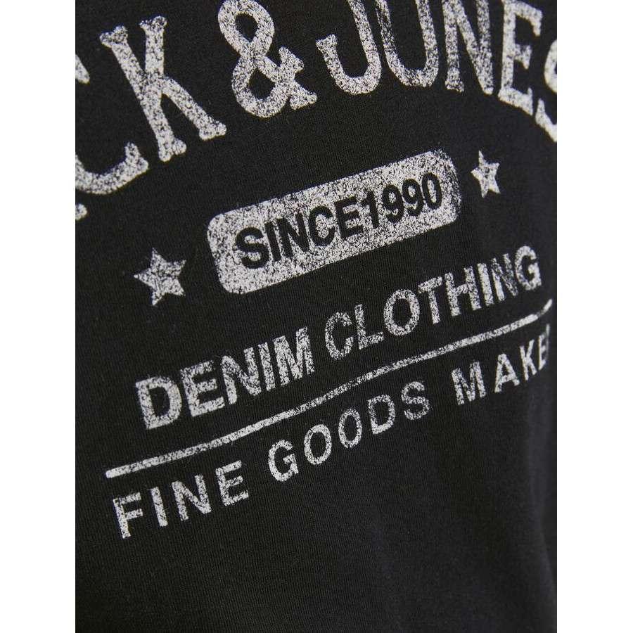 Jack & Jones - Camiseta Jeans 12190513 BLACK