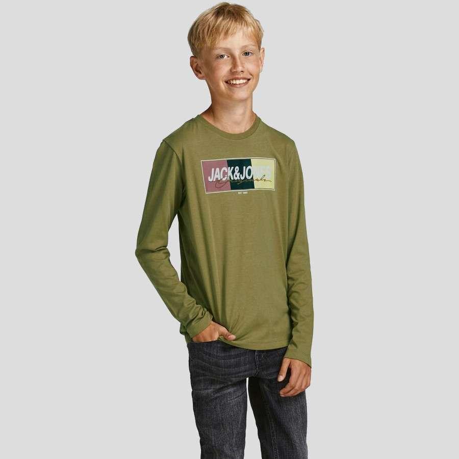 Jack & Jones - Camiseta Mason 12194593 - Martini Olive