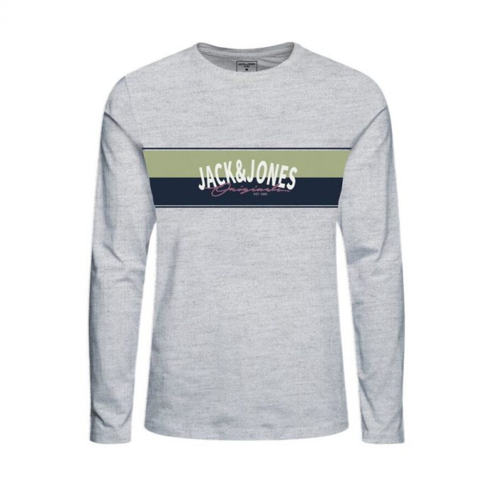 Jack & Jones - Camiseta Mason 12194593 - White melange
