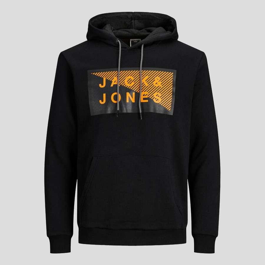 Jack & Jones - Sudadera Shawn 12195903 BLACK