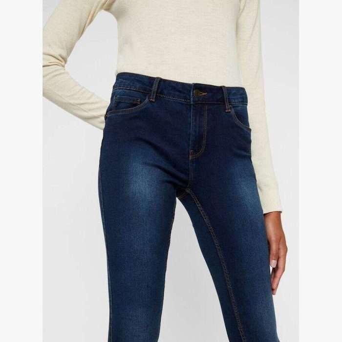 Vero Moda - Pantalón Seven MR 10217514 DARK BLUE DENIM